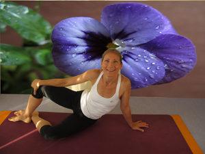 Florence Cougnon, professeur de pilates aux Sables d'Olonne